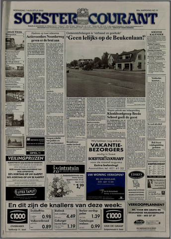 Soester Courant 2002-08-07