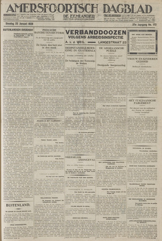 Amersfoortsch Dagblad / De Eemlander 1929-01-22