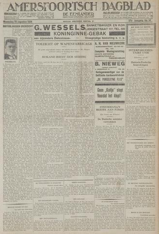 Amersfoortsch Dagblad / De Eemlander 1928-08-29