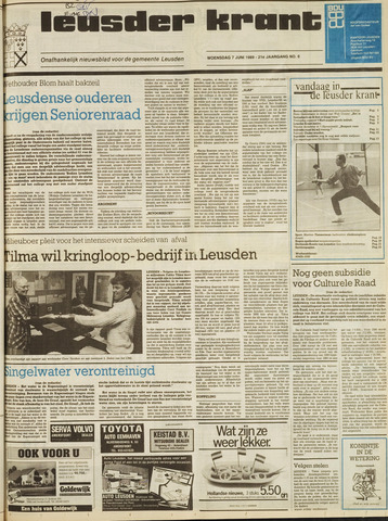 Leusder Krant 1989-06-07