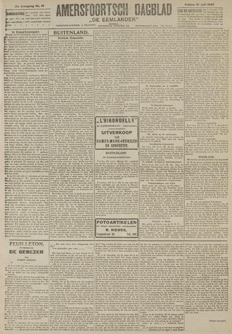 Amersfoortsch Dagblad / De Eemlander 1922-07-21