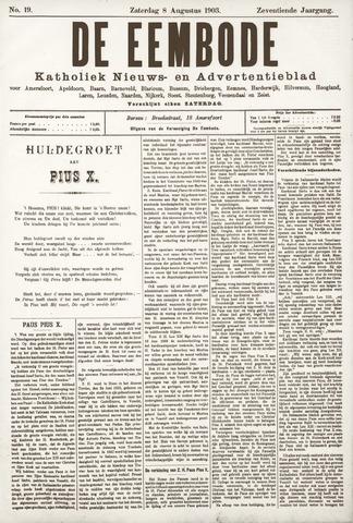 De Eembode 1903-08-08