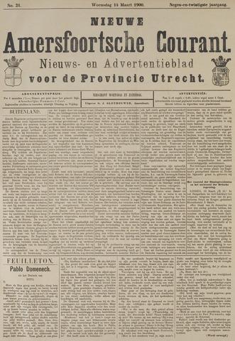 Nieuwe Amersfoortsche Courant 1900-03-14