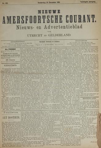 Nieuwe Amersfoortsche Courant 1891-12-24
