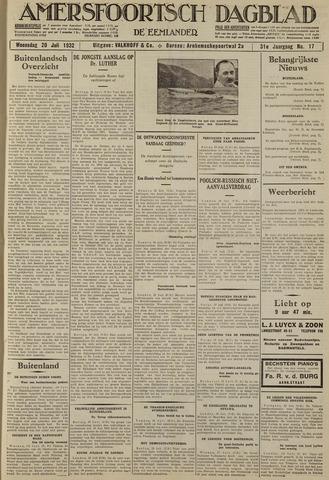 Amersfoortsch Dagblad / De Eemlander 1932-07-20