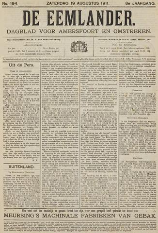 De Eemlander 1911-08-19
