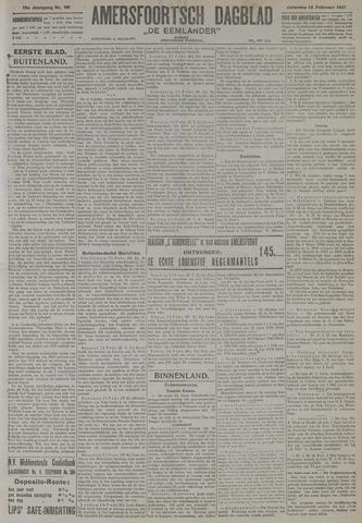 Amersfoortsch Dagblad / De Eemlander 1921-02-12