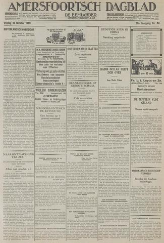 Amersfoortsch Dagblad / De Eemlander 1929-10-18