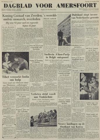 Dagblad voor Amersfoort 1950-10-30