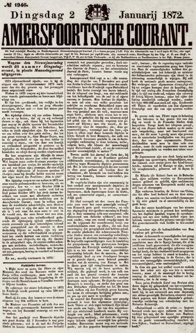 Amersfoortsche Courant 1872