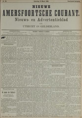Nieuwe Amersfoortsche Courant 1885-03-21