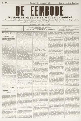 De Eembode 1907-11-16