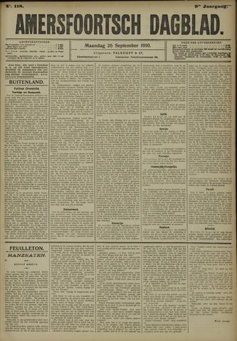 Amersfoortsch Dagblad 1910-09-26