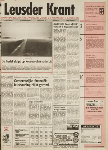 Leusder Krant 1992-09-30