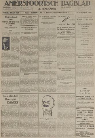 Amersfoortsch Dagblad / De Eemlander 1934-03-08