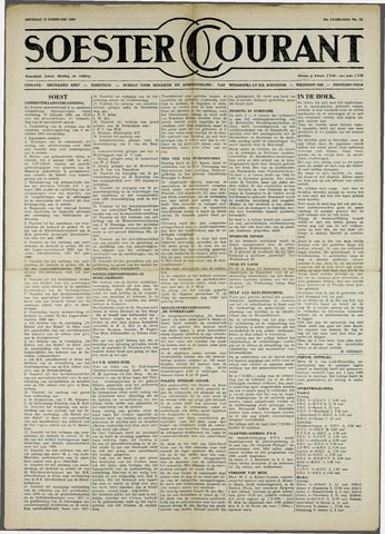 Soester Courant 1960-02-12