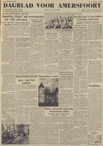 Dagblad voor Amersfoort 1948-02-13