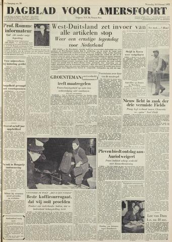 Dagblad voor Amersfoort 1951-02-28