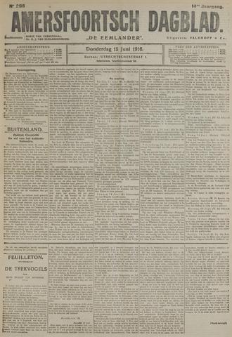 Amersfoortsch Dagblad / De Eemlander 1916-06-15