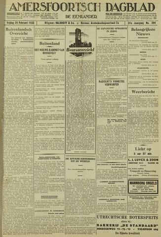 Amersfoortsch Dagblad / De Eemlander 1933-02-24