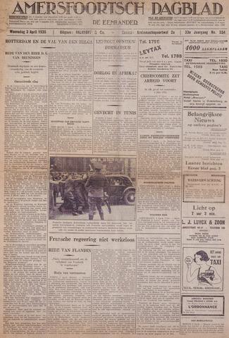 Amersfoortsch Dagblad / De Eemlander 1935-04-03