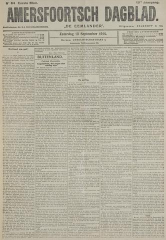 Amersfoortsch Dagblad / De Eemlander 1914-09-12