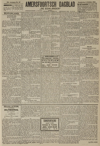 Amersfoortsch Dagblad / De Eemlander 1923-10-11