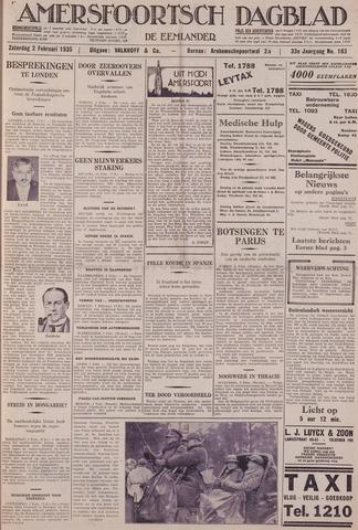 Amersfoortsch Dagblad / De Eemlander 1935-02-02