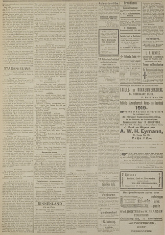 Amersfoortsch Dagblad / De Eemlander 1918-12-10