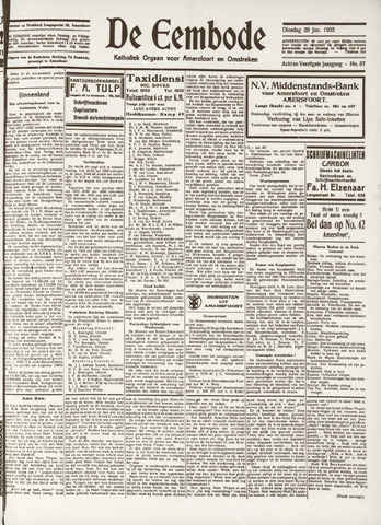 De Eembode 1935-01-29