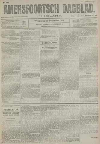 Amersfoortsch Dagblad / De Eemlander 1913-12-17