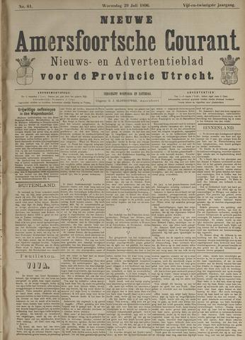 Nieuwe Amersfoortsche Courant 1896-07-29