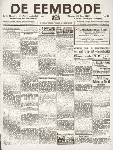 De Eembode 1927-12-20