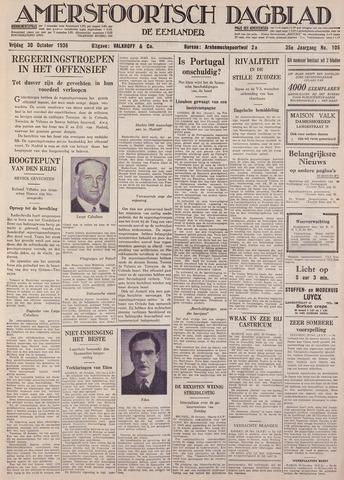 Amersfoortsch Dagblad / De Eemlander 1936-10-30