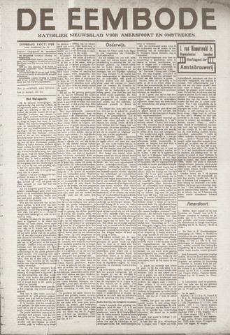 De Eembode 1920-10-05