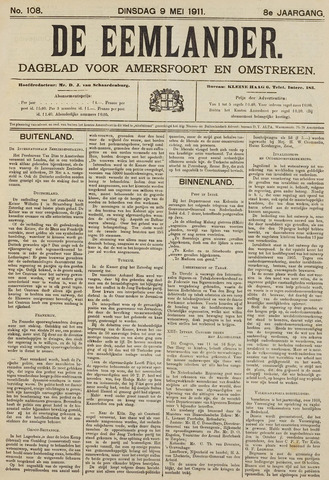 De Eemlander 1911-05-09