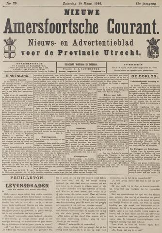 Nieuwe Amersfoortsche Courant 1916-03-18
