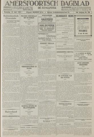 Amersfoortsch Dagblad / De Eemlander 1931-06-10
