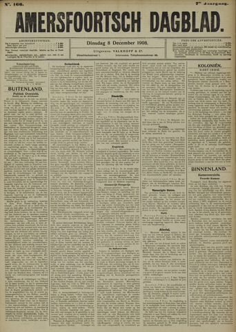 Amersfoortsch Dagblad 1908-12-08