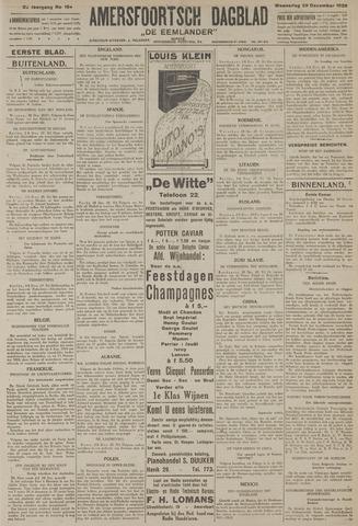 Amersfoortsch Dagblad / De Eemlander 1926-12-29