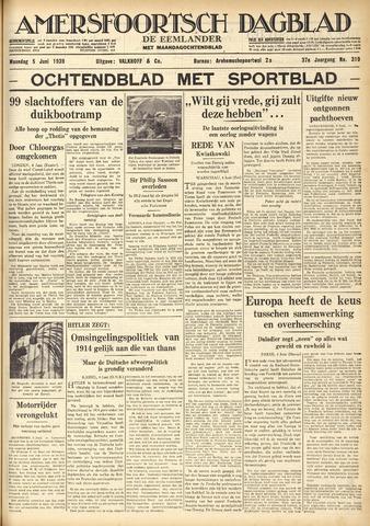 Amersfoortsch Dagblad / De Eemlander 1939-06-05