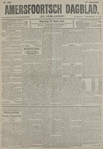 Amersfoortsch Dagblad / De Eemlander 1914-03-16