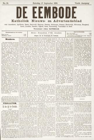 De Eembode 1890-09-27