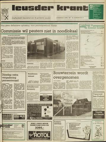 Leusder Krant 1987-04-09