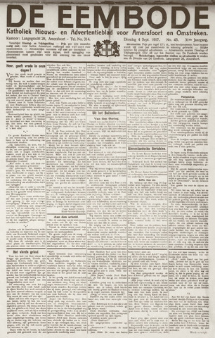 De Eembode 1917-09-04