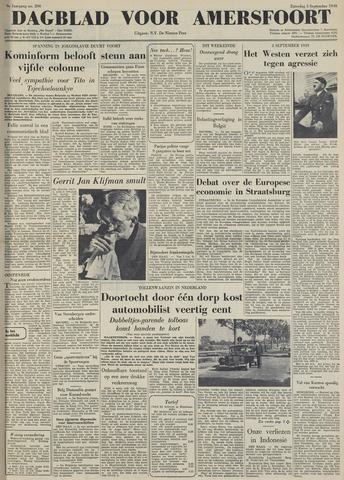 Dagblad voor Amersfoort 1949-09-03