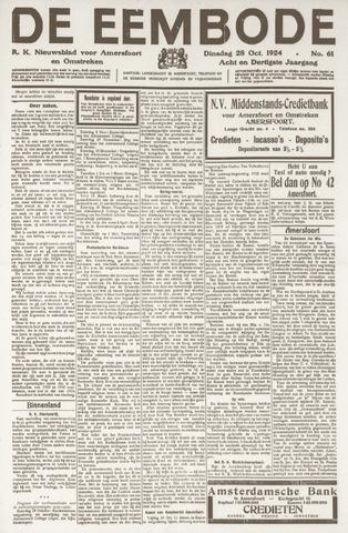De Eembode 1924-10-28