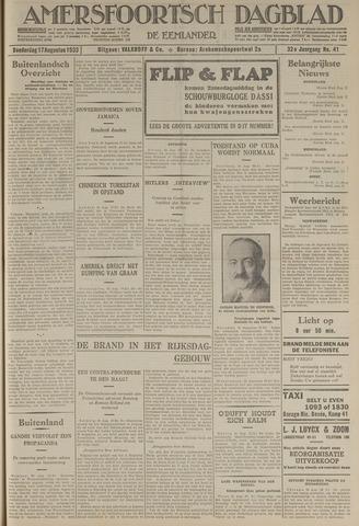 Amersfoortsch Dagblad / De Eemlander 1933-08-17