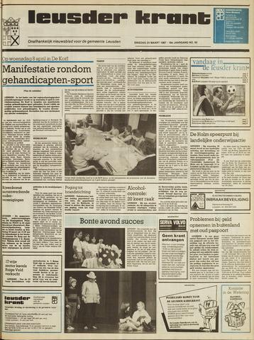Leusder Krant 1987-03-24