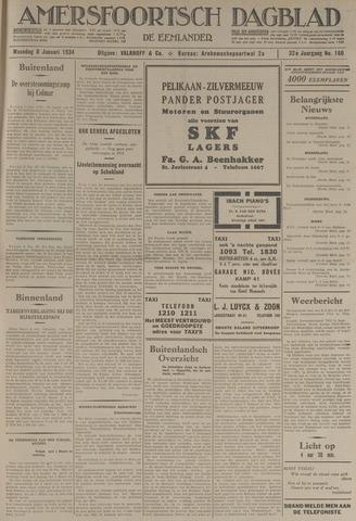 Amersfoortsch Dagblad / De Eemlander 1934-01-08